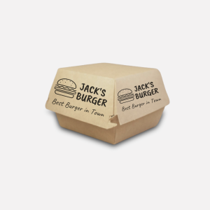 Burgerbox, Klappkarton, ab 1.000 Stk.