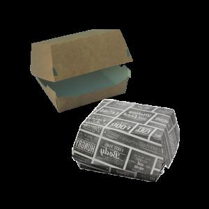 Burger-Boxen aus Karton