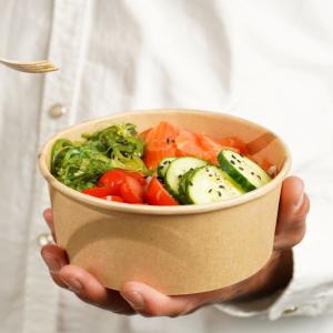 Salat & Bowl Schalen aus Karton