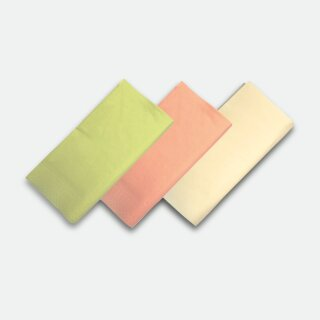 Tissue-Servietten, 40 x 40 cm, 3-lagig, 1/8 Falz, Aprikose