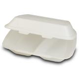 Menü-Box aus XPS, laminiert, 2-geteilt, 24,5 x 21 x...