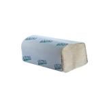 Papierhandtücher mit ZZ-Falzung, 25 x 23 cm, 1-lagig, naturgrau