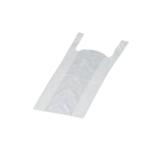 Hemdchen-Tragetaschen, 28 x 14 x 48 cm, 09 mµ, weiß