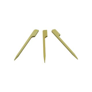 Bambusspieß mit Flat-Griff, 10,5 cm, 2000 Stk./VE