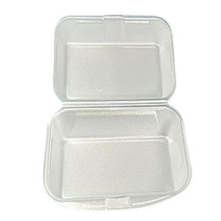 Menü-Box aus XPS, ungeteilt, 24 x 16 x 7 cm, weiß