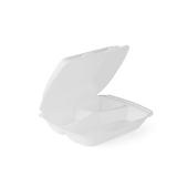 Menü-Box aus XPS, laminiert, 3-geteilt, 24,5 x 21 x...