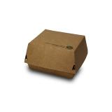 """Burger Boxen, Pappe """"pure"""" extra groß, 17 x 17 cm """"100% Fair"""""""