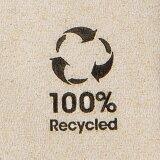 Besteck-Servietten aus Recyclingpapier, 2-lagig, 10x19,5 x 19,5 cm