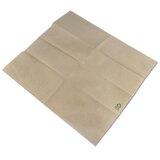 Servietten aus Recyclingpapier, 1-lagig, 1/8 Falz, 32 x 32 cm