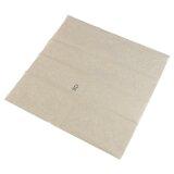 Servietten aus Recyclingpapier, 1-lagig, 1/8 Falz, ungebleicht ,33 x 33 cm