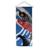 """Textil-Bild """"Koi"""" , 35 x 85 cm"""