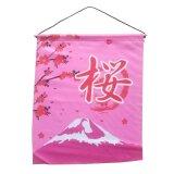 "Textil-Bild ""Fujiyama"" , 35 x 45 cm"
