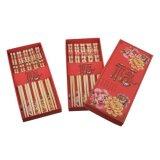 Essstäbchen aus Bambus, 5er Set mit Geschenkbox, mit...