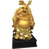 Deko-Buddha aus Kunstharz