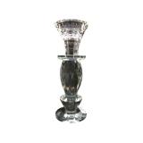 Kerzenständer Kristall,  5,5x16cm