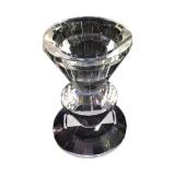 Kerzenständer Kristallglas, 6 x 8,5 cm