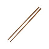 Essstäbchen aus Holz, Mehrweg, 24,5 cm, braun