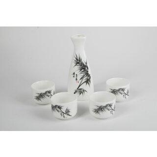 "Sake-Set, 5-teilig, Motiv ""Bambus"""
