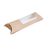 Wrap-Box aus Bio-Papier, mit PLA-Sichtfenster, 29 x 11 x...