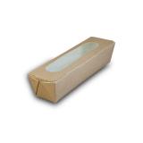Snackbox aus Karton, mit Sichtfenster, 27,5 x 8 x 6 cm,...