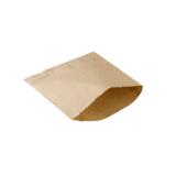 Brotbeutel, 18 x 18 cm, kraftbraun