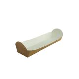 Baguette-Schale aus Karton, 24,5 x 6 x 3 cm