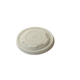 Deckel aus CPLA, 120 - 295 ml, Ø 9 cm, weiß