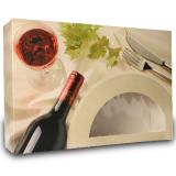 Catering-Box aus Karton mit Sichtfenster, Motiv...