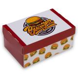 Burgerbox, Faltkarton, 15,5 x 10 x 7 cm, Print