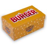 Burgerbox, Faltkarton, 17,5 x 10 x 7,5 cm, Print